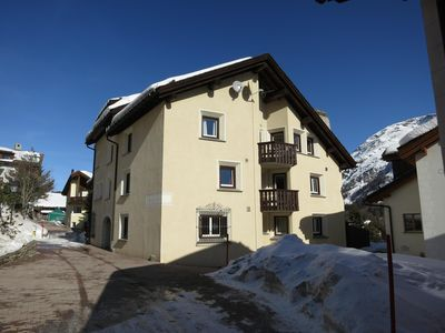 Photo for Family friendly, quiet apartment in a beautiful Engadine house