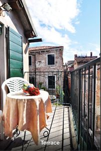 Photo for Beautiful Loft With Venetian Wooden Terrace 'Altana' Santa Maria Formosa Square