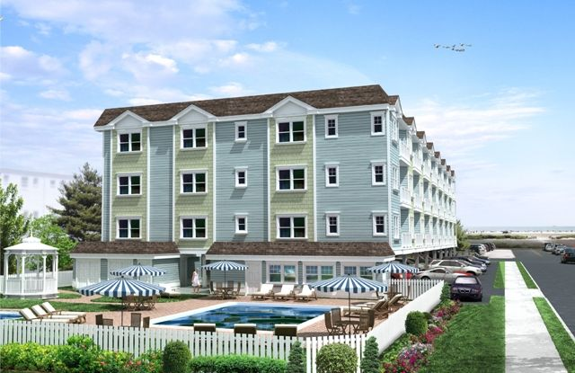 Wildwood Crest Condo With Ocean Views And Only Steps From The Beach