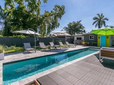 Photo for Beautiful house for relaxing with a pool near Las Olas and Beaches