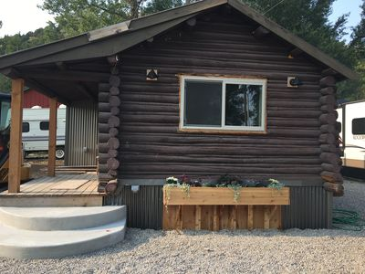 Photo for 1 Bedroom Cabin Last Minute Rental For The Eclipse