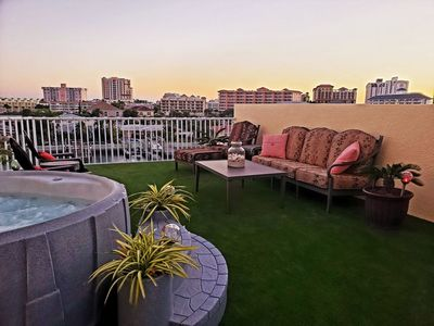 Park Like Setting on Private Rooftop Terrace