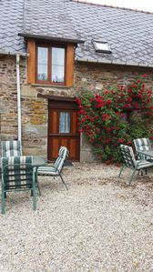 Photo for 3BR Cottage Vacation Rental in Saint-Connec, Bretagne