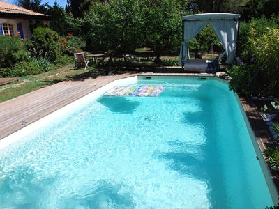 Photo for Corner of paradise close to Montpellier- nature, swimming pool and jacuzzi