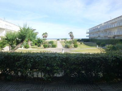 Photo for App RDC, seafront, sunny, beautiful garden area