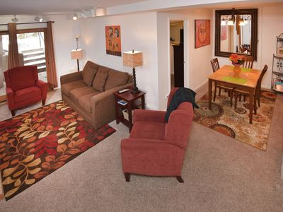 Photo for Perfect Location in Vail Village, Walk to Slopes,  Free Transportation