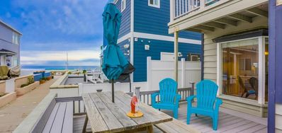 Photo for Just steps from the ocean, this 3 bedroom is perfect for family and friends!