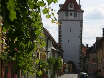 Photo for Holiday Home In A Romantic Medieval Bavarian Town Nestled In The Vineyards