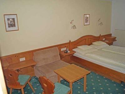Photo for Double room with half board - Hotel Sonne