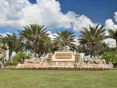 Photo for Heritage Bay Condo – wonderful gated golf and tennis community