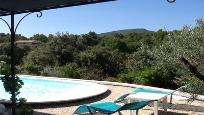 Photo for Villa with pool, in the heart of Provence between Ste Victoire and Luberon.