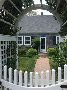 Photo for Charming, Convenient Mid-Island Nantucket Cottage on Surfside Beach Bike Path