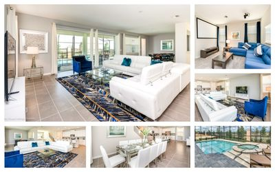 Photo for 🌟New House South Facing Pool,Gorgeous Resort, Restaurant Minutes From Disney🌟