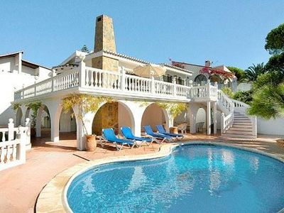 Photo for #Luxury 4 bed  detached villa with pool & private garden
