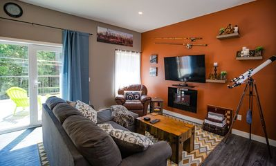 Photo for Pillow Top Condo: 2kms from ski resort, beautifully outfitted condo