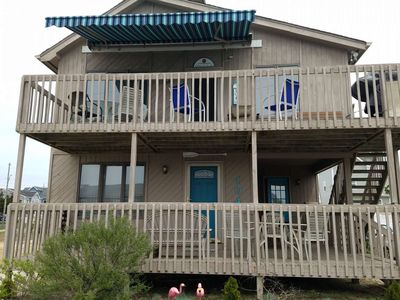 Photo for Ortley Beach convenient to everything, 3 Bed 2 Bath spacious 2nd floor with retractable awning.