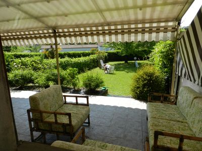 Photo for Apartment with private garden in residence with swimming pool and tennis