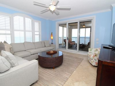 Photo for Beach Colony Tower 14A- Beach Front unit with large terrace & amazing views!