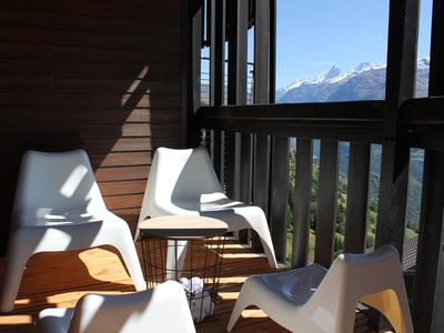 Photo for Apt. 4-6pers Auris en oisans ski resort / Grand Domaine Alpe d'Huez