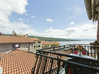Photo for Studio apartment in Opatija with Seaview, Balcony, Air condition, WIFI (3700-1)