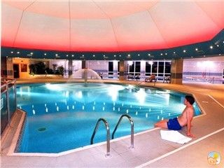 Leisure club at St Mellion - membership included. 4 minutes drive