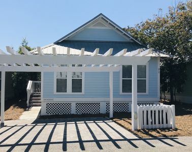 Private parking for 2 cars - makes it easy to carry things from car to cottage.