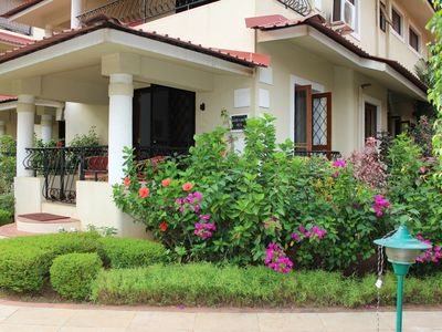 Beautiful villa near candolim beach