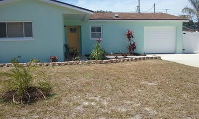 Photo for Great retreat home away from home w/ private inground pool minutes to the beach