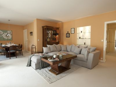 Photo for Left Bank Aristocracy, sleeps up to 6 peacefully, antiques mixed & modern comfor