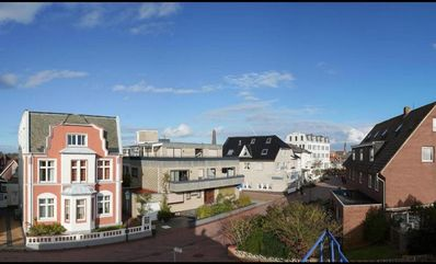 Photo for Sunny roof terrace overlooking all three lighthouses Borkums!