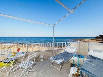 Photo for Cozy apartment, near the renowned Noto, with terraces overlooking the sea