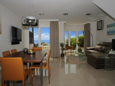 Photo for Luxury villa sea views by CanariasGetaway