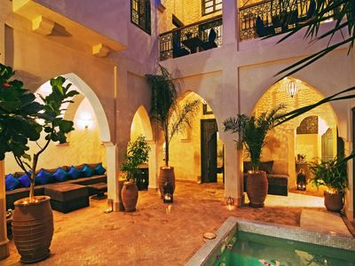 Photo for Luxurious riad in the heart of Medina, Marrakech