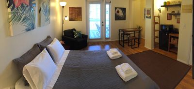 Photo for Cozy private Studio 10 min to Historic Downtown Fort Myers with Screened Lanai