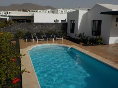 Photo for In Las Coloradas with private pool,British TV and  free wifi.