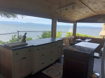 Photo for Welcome to Cedar Ledge!  270 Degree View of Lake Champlain