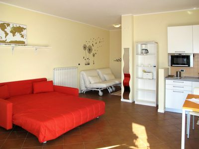 Photo for Nice apartment for 8 guests with pool and TV