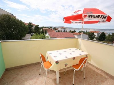 Photo for Studio flat with terrace and sea view Starigrad, Paklenica (AS-6579-a)