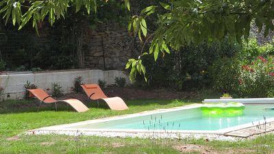 "Photo for Facing the sea: F3 *** ""Le clos des 3 Mas"" with swimming pool"