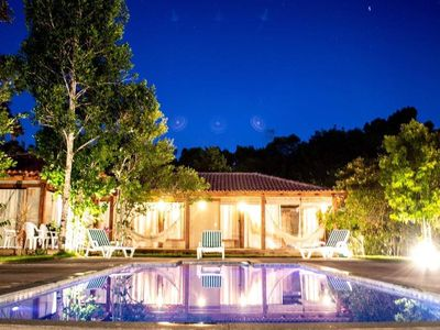 Photo for LA CAPRICHOSA, AIR, POOL, BARBECUE, QUALITY, COMFORT NEAR THE BEACHES