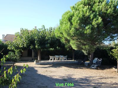 Photo for Sérignan (34410) Comfortable and very quiet villa - Beach and shops at 250 m