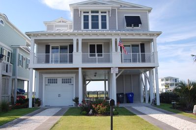 Awesome Recently Built Waterfront Beach House W Private Pool Dock On Sunset Beach Island Sunset Beach Interior Design Ideas Philsoteloinfo