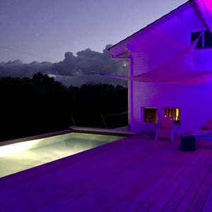 Photo for HOUSE OF ARCHITECT IN WOOD WITH SWIMMING POOL