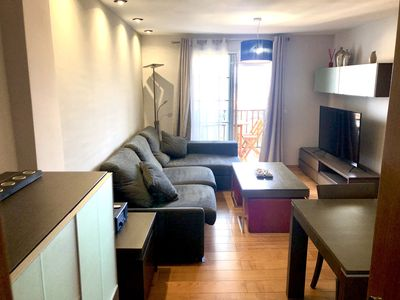 Photo for Semi-central apartment overlooking the Bay of Algeciras