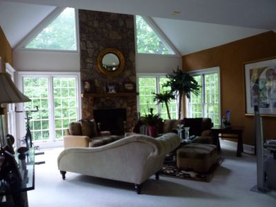 The Lounge with Great Views of the Outdoors