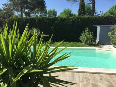 Photo for House any comfort privative swimming pool close sommières