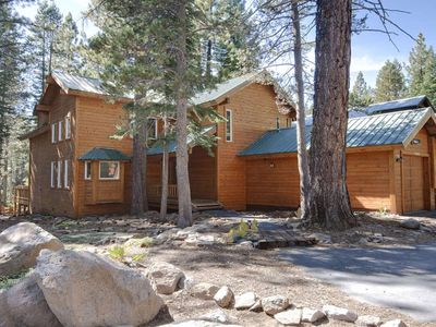 Photo for Family friendly cabin w/ a private hot tub & access to a shared pool, tennis