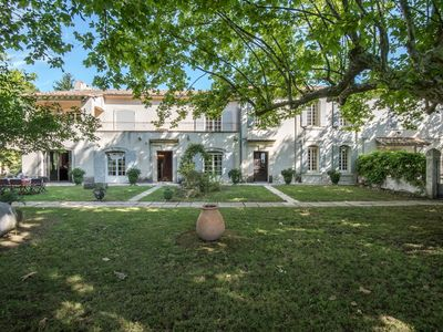 Photo for Mas of character in Raphèle les Arles, private property of 80 ha, sleeps 15