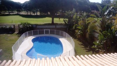 Photo for Quiet area overlooking golf course walking distance to Vilamoura marina