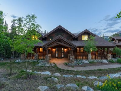 Photo for NEW! Mountain Estate with Hot Tub, Apartment, Game Room: Mountain Kingdom